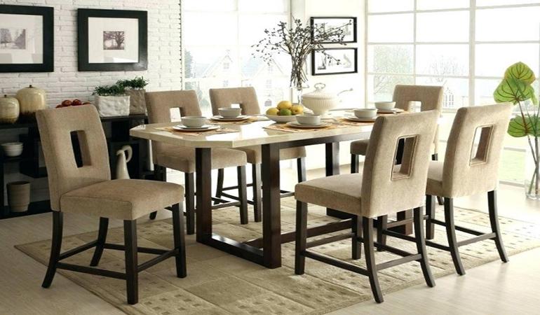 Làn gió mới cho không gian nhà cùng bộ bàn ghế phòng ăn bằng đá