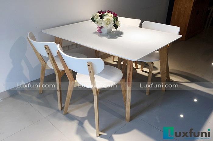 Những mẫu bàn ăn đơn giản và cách trang trí bàn ăn đẹp