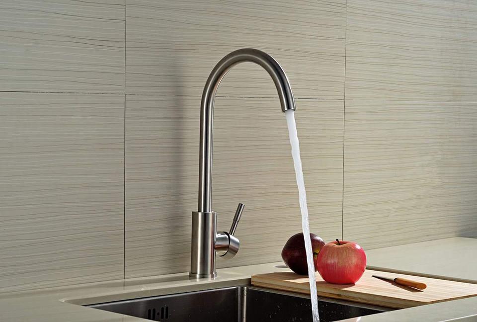 Tổng hợp các loại vòi chậu rửa bát và ưu nhược điểm-3