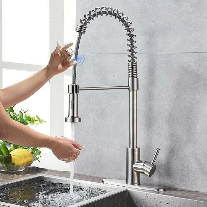 Tổng hợp các loại vòi chậu rửa bát và ưu nhược điểm-7