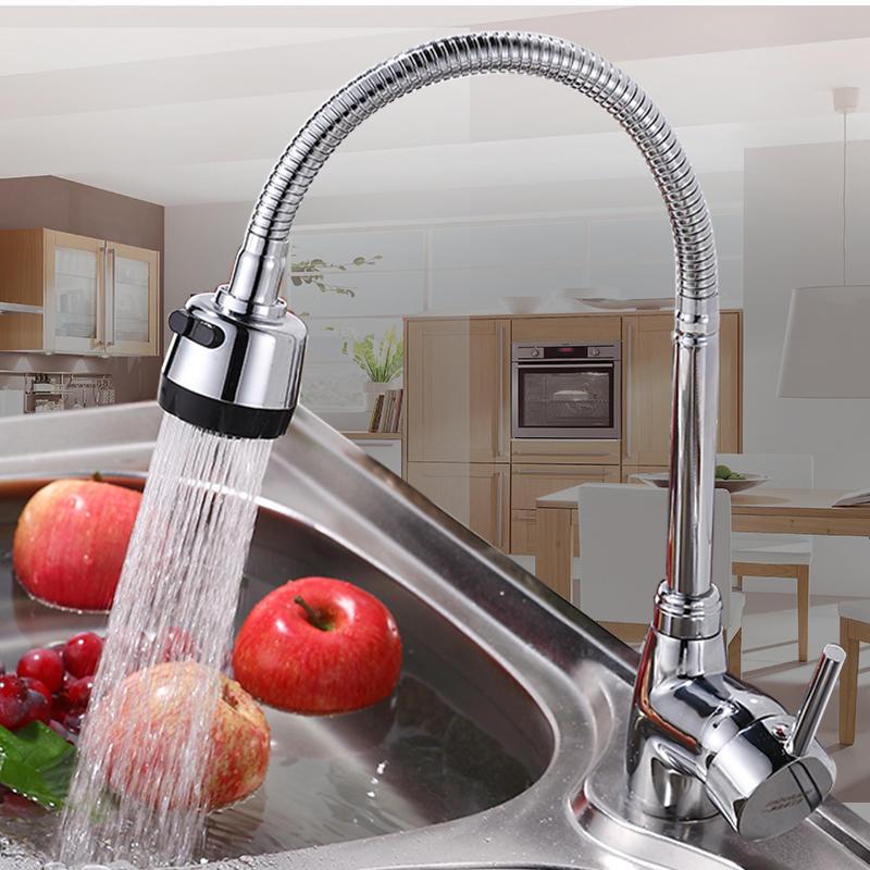 Vòi rửa bát nóng lạnh: sự cố và cách khắc phục-1