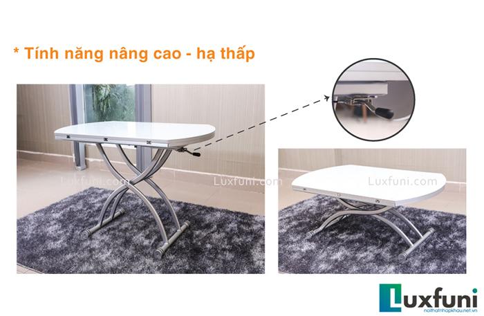 Có nên sử dụng bàn trà thông minh kết hợp bàn ăn không