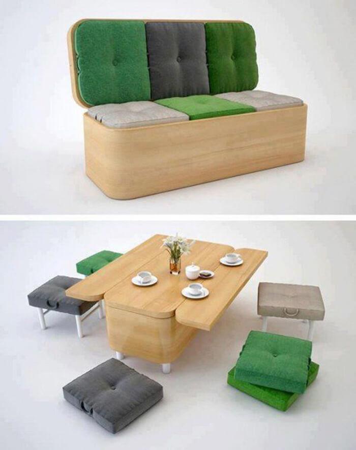 Những mẫu bàn ăn hiện đại phù hợp với không gian bếp nhỏ