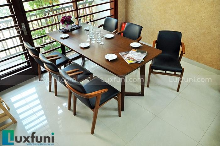 Tư vấn kinh nghiệm chọn mua những mẫu bàn ăn 6 ghế hiện đại