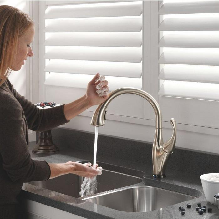 Vòi nước rửa chén cảm ứng Touch và Touchless-3