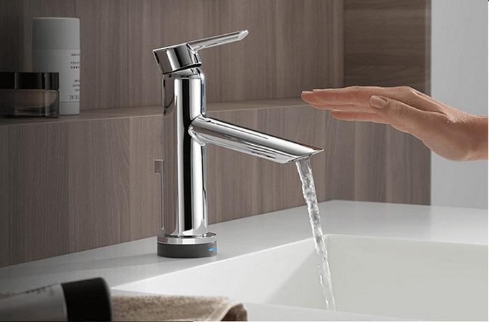 Vòi nước rửa chén cảm ứng Touch và Touchless-4
