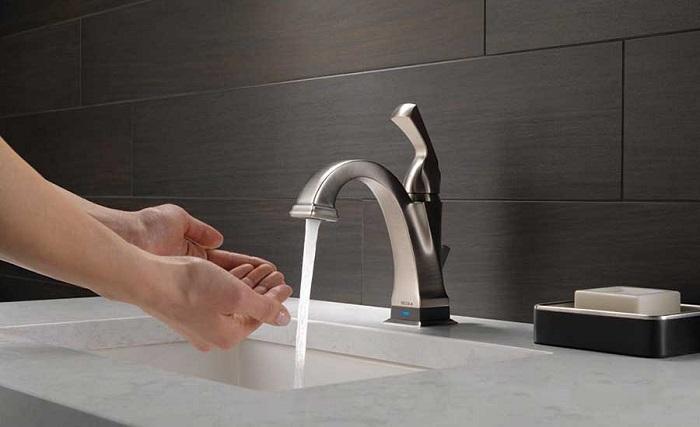 Vòi nước rửa chén cảm ứng Touch và Touchless-5