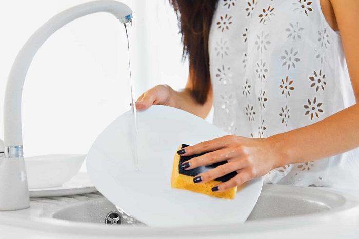 Vòi nước rửa chén cảm ứng Touch và Touchless-6