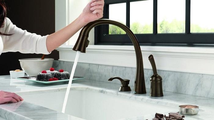 Vòi nước rửa chén cảm ứng Touch và Touchless-7