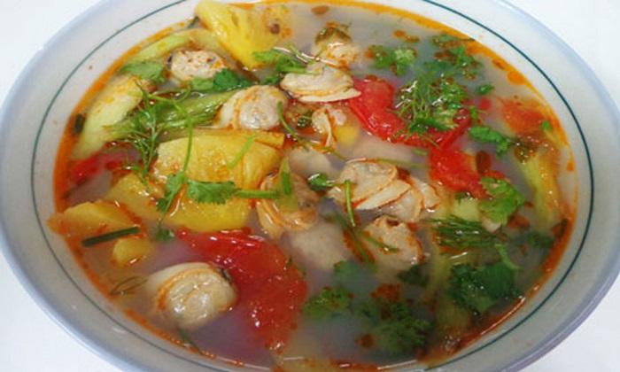 Canh ngao nấu chua, món ăn mùa hè miền Bắc-1