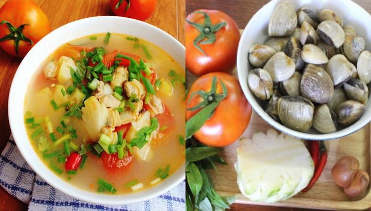 Canh ngao nấu chua, món ăn mùa hè miền Bắc-4