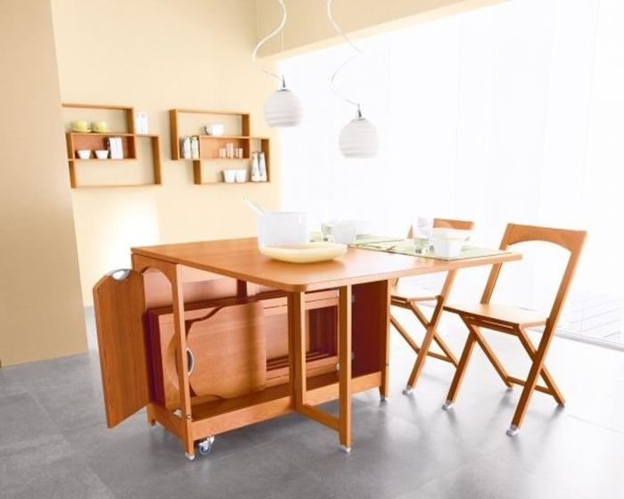 Có nên sử dụng bàn ăn gấp thông minh giá rẻ cho nhà nhỏ hay không?