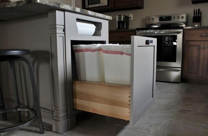 Cách sắp xếp nhà bếp gọn gàng sạch sẽ-001