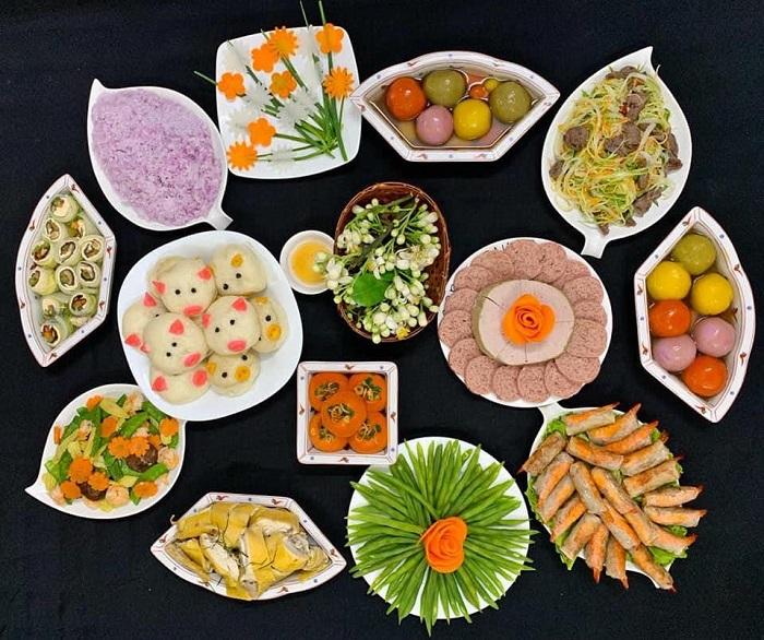 Mâm lễ cúng rằm tháng Bảy chuẩn phong tục Việt-2