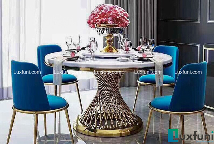 Đánh giá 5 bộ bàn ăn tròn đẹp từ mọi góc nhìn