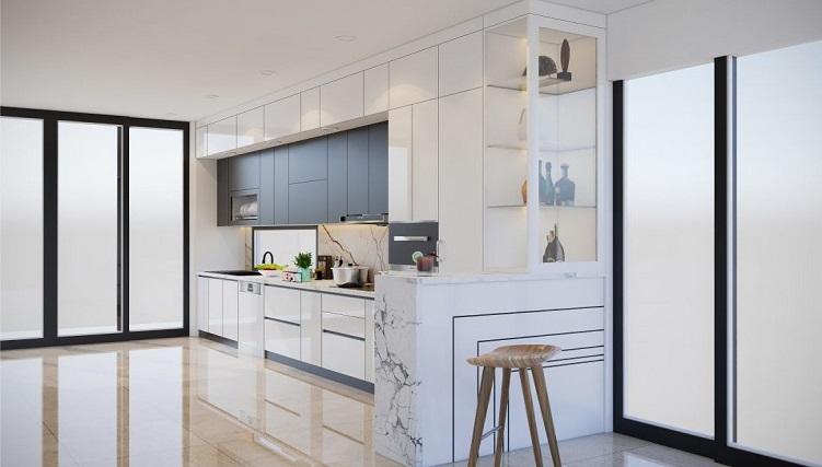 Một số mẹo hay khi thiết kế nội thất phòng bếp nhỏ-1
