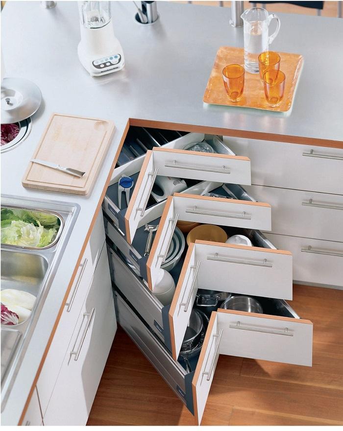 Những đồ nội thất phòng bếp thông minh giúp căn bếp thêm gọn gàng-2