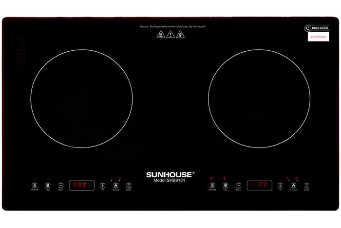 Review bếp từ đôi Sunhouse dưới góc nhìn người tiêu dùng