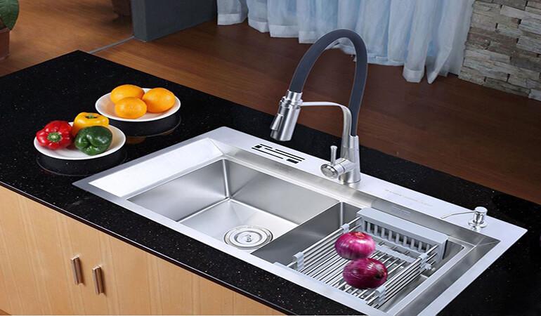 Cách xử lý bồn rửa bát bị tắc đơn giản và hiệu quả