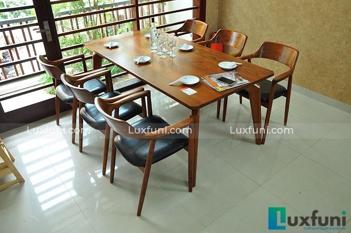 Những mẫu bàn ăn đẹp bằng gỗ bán chạy nhất hiện nay-1