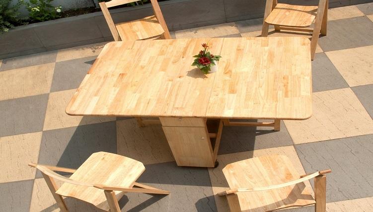 Những mẫu bàn ăn đẹp bằng gỗ bán chạy nhất hiện nay-6