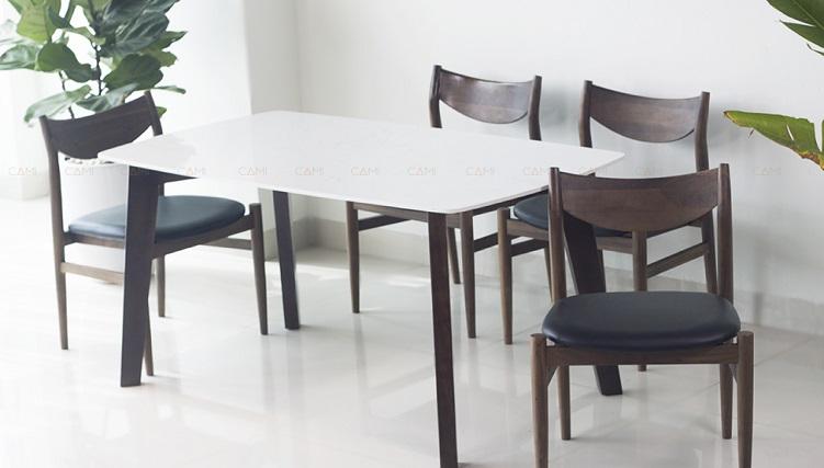 Những mẫu bàn ăn mặt đá 4 ghế được săn đón nhất hiện nay-7