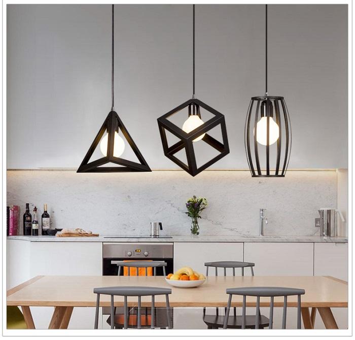 Những mẫu đèn trang trí đẹp cho căn bếp thêm bừng sáng-13