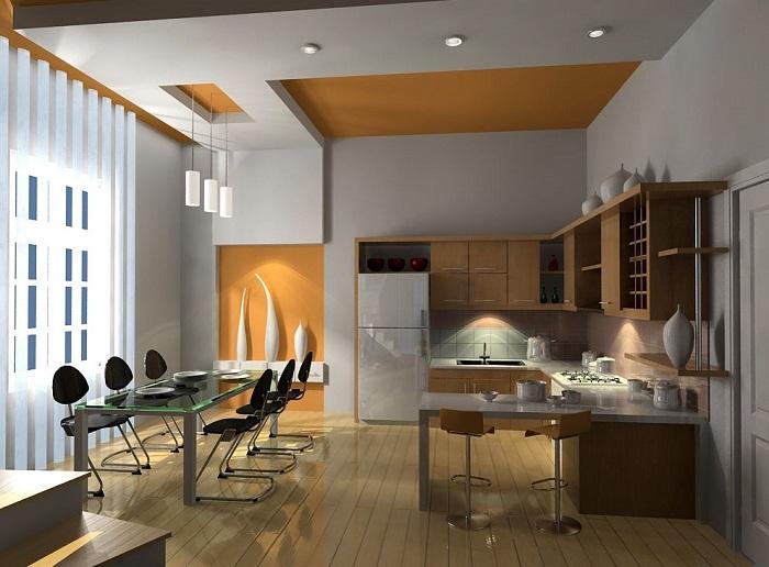 Những mẫu đèn trang trí đẹp cho căn bếp thêm bừng sáng-3