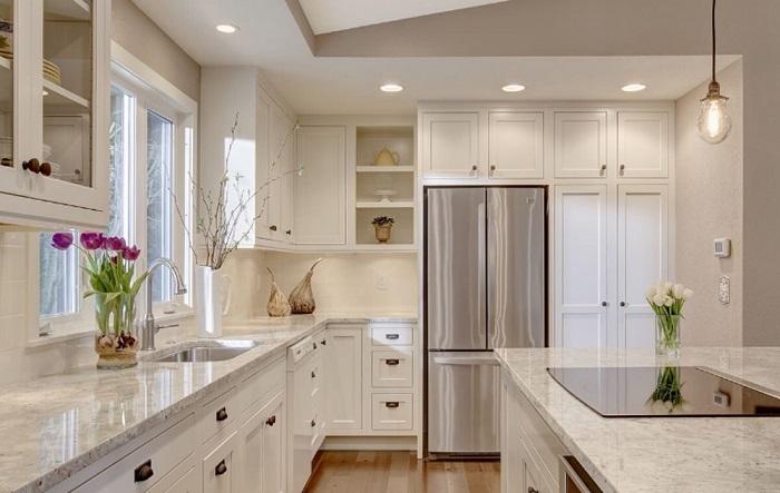 Thiết kế tủ bếp kịch trần – tối ưu không gian nhà bếp nhỏ-3