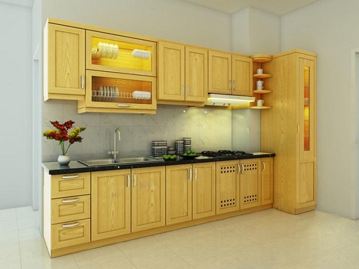 Thiết kế tủ bếp kịch trần – tối ưu không gian nhà bếp nhỏ-4