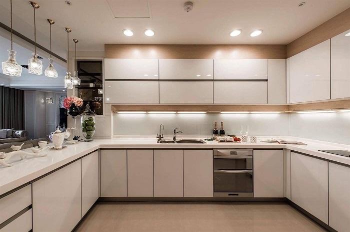 Thiết kế tủ bếp kịch trần – tối ưu không gian nhà bếp nhỏ-5