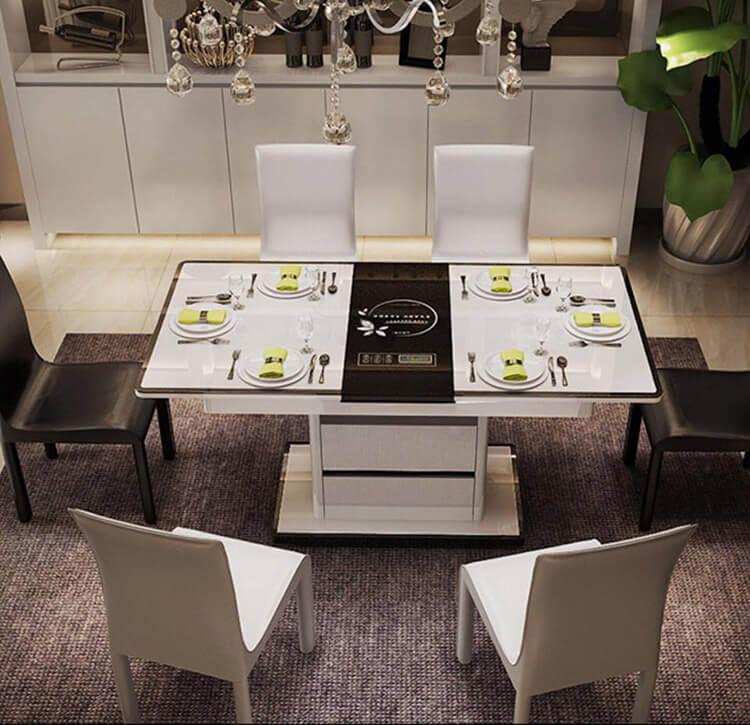 5 bộ bàn ăn 6 ghế hiện đại thiết kế đẹp thanh lịch-001