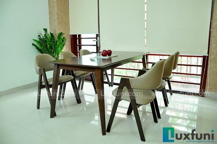 5 bộ bàn ăn 6 ghế hiện đại thiết kế đẹp thanh lịch-1