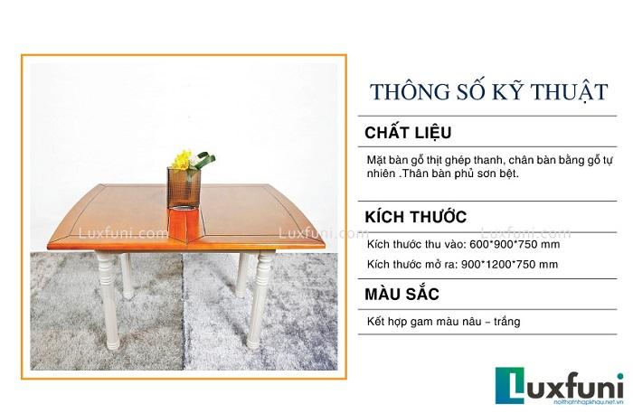 5 bộ bàn ăn 6 ghế hiện đại thiết kế đẹp thanh lịch-3