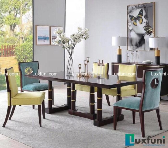 5 mẫu bàn ăn đẹp bằng gỗ tự nhiên-1