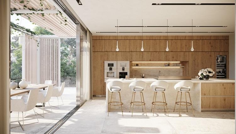 Choáng ngợp với những phòng bếp hiện đại đẹp đẳng cấp