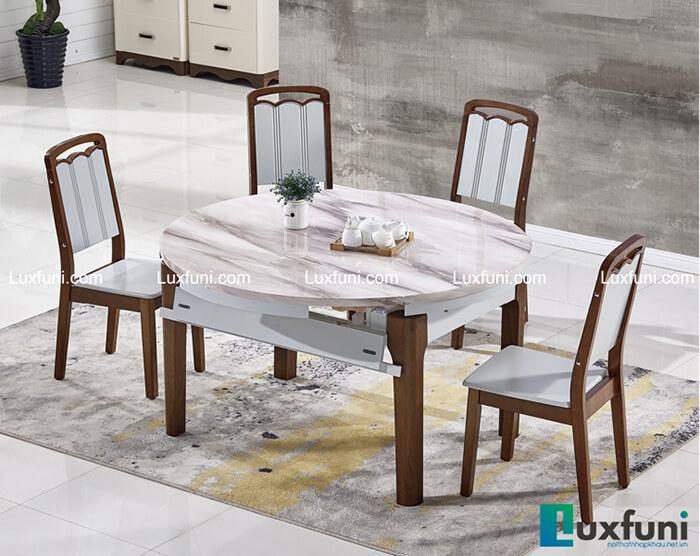 Gợi ý Gợi ý những mẫu bàn ăn tròn mặt đá đầy sang trọng và tinh tế - 6mẫu bàn ăn tròn mặt đá đầy sang trọng và tinh tế