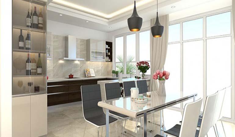 Những mẹo thiết kế nội thất phòng bếp cho không gian thêm hiện đại