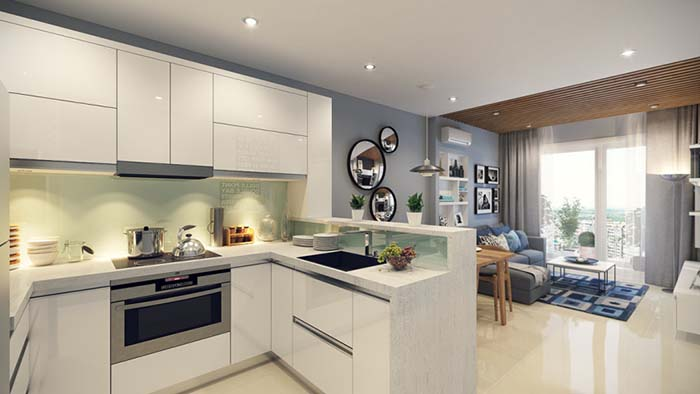Những mẹo thiết kế nội thất phòng bếp cho không gian thêm hiện đại -3
