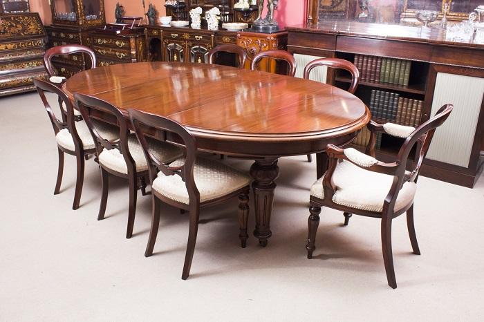 Tuyển tập những bộ bàn ăn 8 ghế hiện đại đẹp đẳng cấp-6