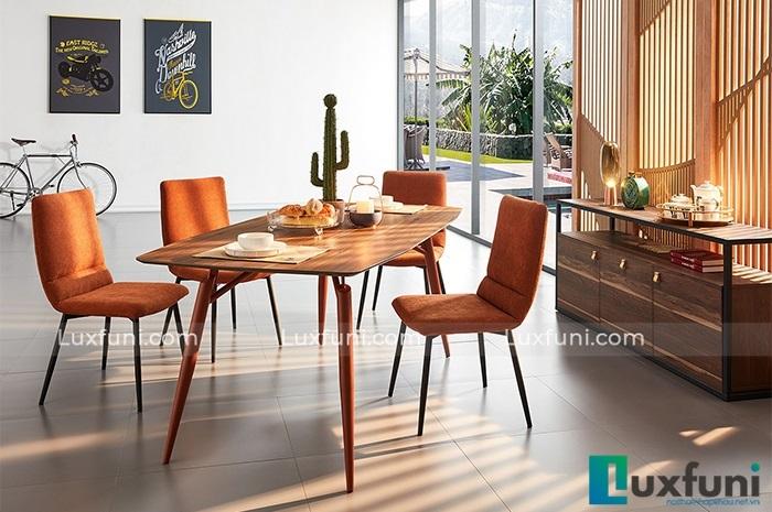Những mẫu bàn ăn gỗ đẹp hiện đại và sang chảnh-3