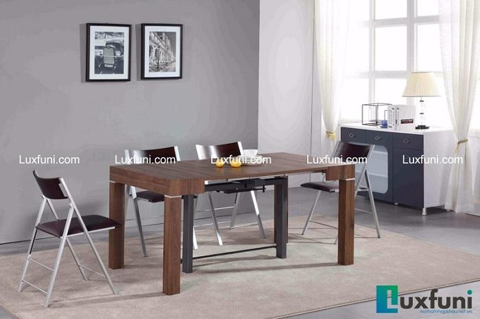 Những mẫu bàn ăn gỗ đẹp hiện đại và sang chảnh-4