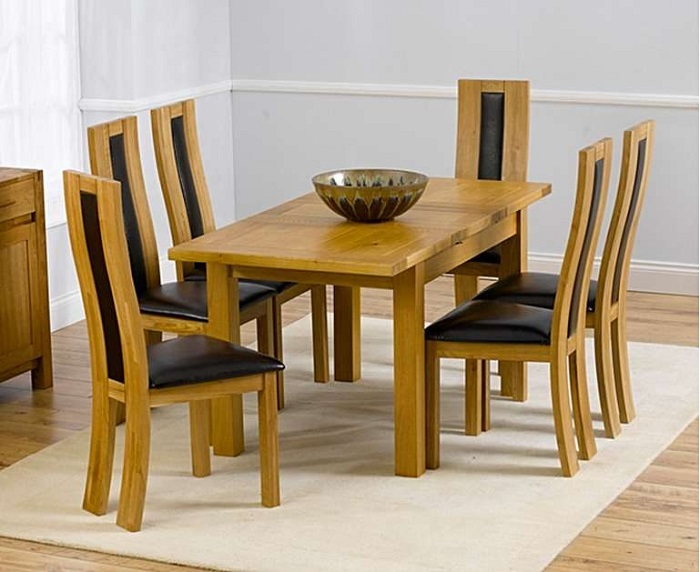 Những thiết kế bàn ăn gỗ sồi hiện đại bán chạy nhất hiện nay-10