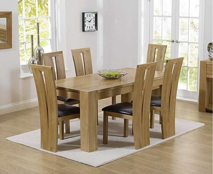 Những thiết kế bàn ăn gỗ sồi hiện đại bán chạy nhất hiện nay-2