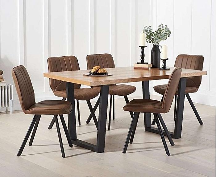 Những thiết kế bàn ăn gỗ sồi hiện đại bán chạy nhất hiện nay-3