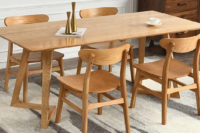 Những thiết kế bàn ăn gỗ sồi hiện đại bán chạy nhất hiện nay-4