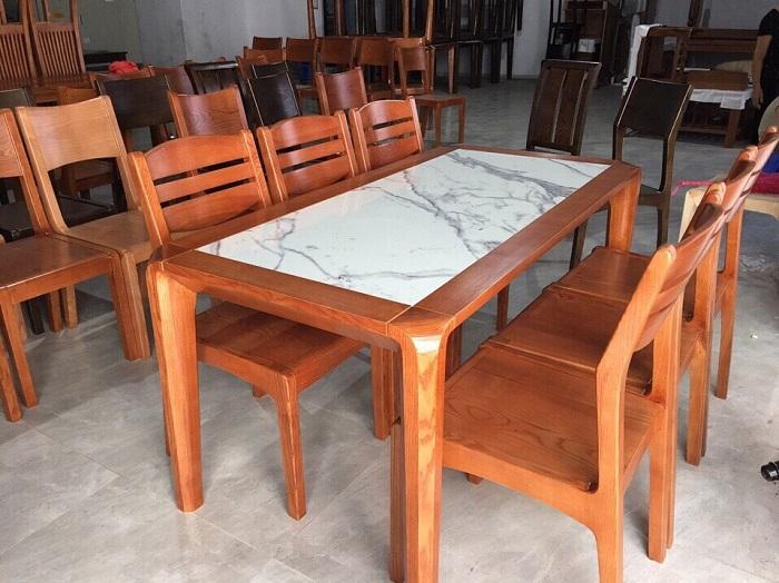 Những thiết kế bàn ăn gỗ sồi hiện đại bán chạy nhất hiện nay-5