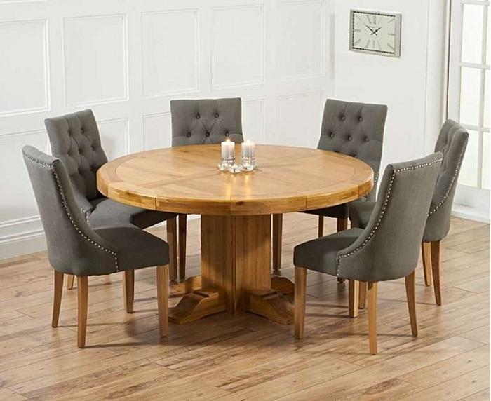 Những thiết kế bàn ăn gỗ sồi hiện đại bán chạy nhất hiện nay-6