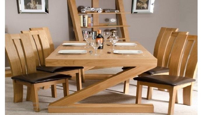 Những thiết kế bàn ăn gỗ sồi hiện đại bán chạy nhất hiện nay-8