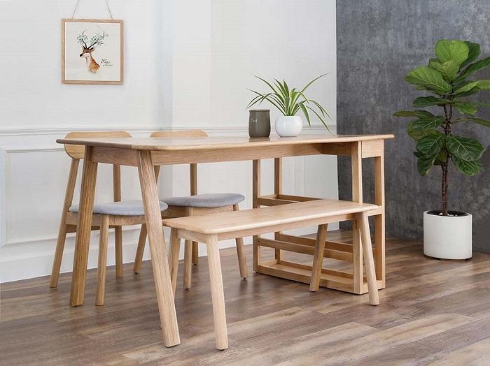 Những thiết kế bàn ăn gỗ sồi hiện đại bán chạy nhất hiện nay-9